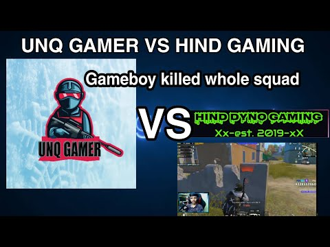 #PUNJUSQUAD VS HIND GAMING #DYNO  #GAMEBOY KILLED THE WHOLE SQUAD