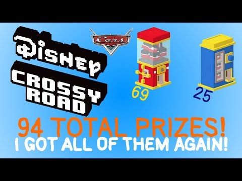 "Disney Crossy Road ""Huge Prize Opening #9!"" (60 FPS)"