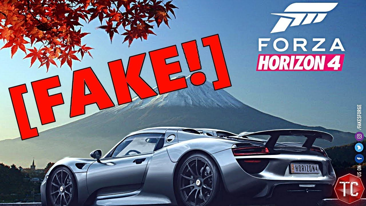 forza horizon 4 the leak is fake youtube. Black Bedroom Furniture Sets. Home Design Ideas