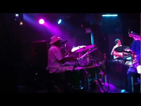 Cyril Neville, Stanton Moore, and company at Johnny Vidacovich birthday show at Tipitinas.MOV