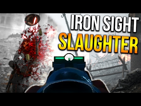 BATTLEFIELD 1 IRON SIGHT SPREES   BF1 Back to basics Scout Gameplay