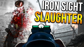 BATTLEFIELD 1 IRON SIGHT SPREES | BF1 Back to basics Scout Gameplay