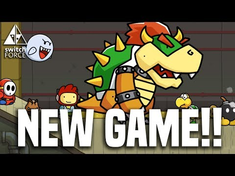 NEW Switch Game Coming Super Soon! Scribblenauts Showdown!