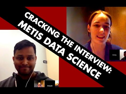 How to Get In to a Data Science Bootcamp: Metis!