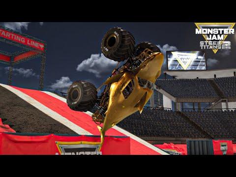 Monster Jam Steel Titans 2 | ALL 54 Trucks Attempt A BACKFLIP! |
