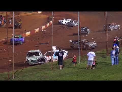 Demolition Derby  - Dixie Speedway  Part 2