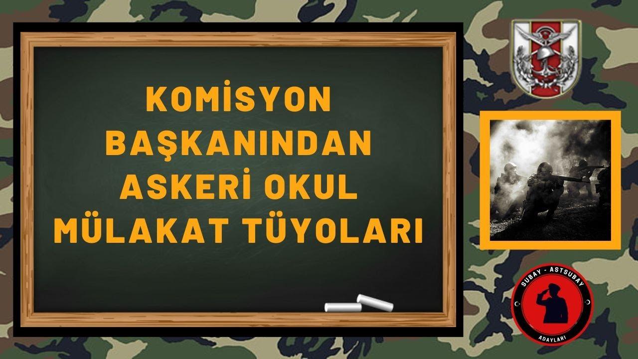 2019 MSÜ KARA ASTSUBAY MYO BAŞARILI MÜLAKAT TECRÜBESİ
