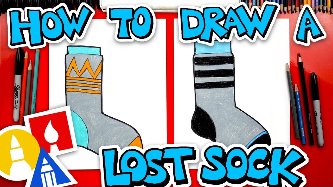 How To Draw A Lost Sock