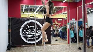 Отчетный концерт школы танцев E-Study-on/Pole dance и воздушное полотно, Челябинск, 2018 (Study-on)