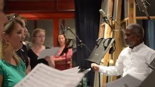 MEGHA   ILAIYARAAJA   JEEVANE SONG RECORDING  HUNGARY   ASHWIN   SRUSHTI DANGE   GB STUDIO FILMS