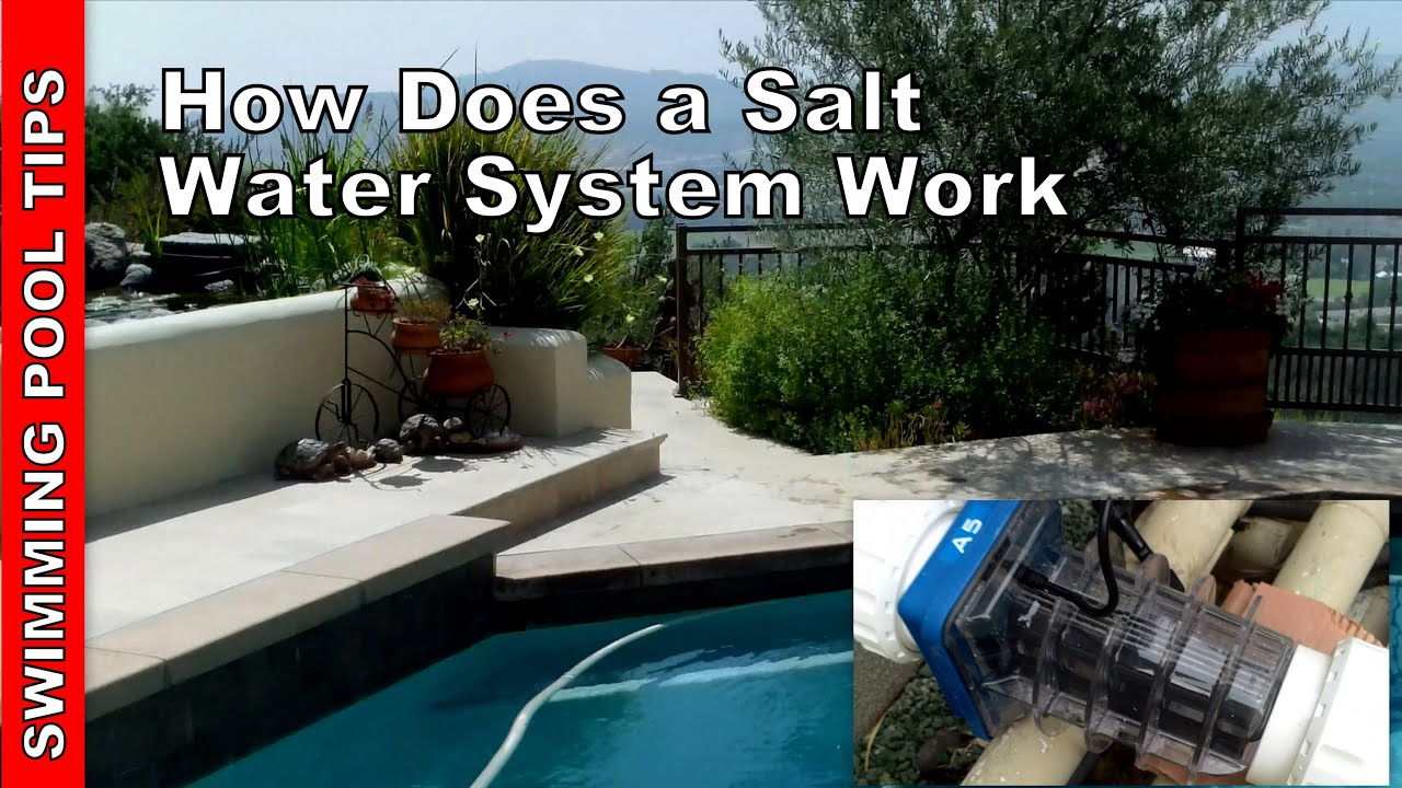 How Does A Swimming Pool Salt System Work Youtube