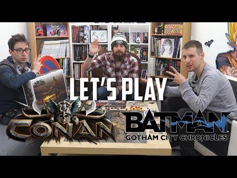 LET'S PLAY BATMAN GOTHAM CITY CHRONICLES & CONAN