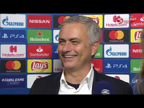 Mourinhos reaction to Pochettino's exit: