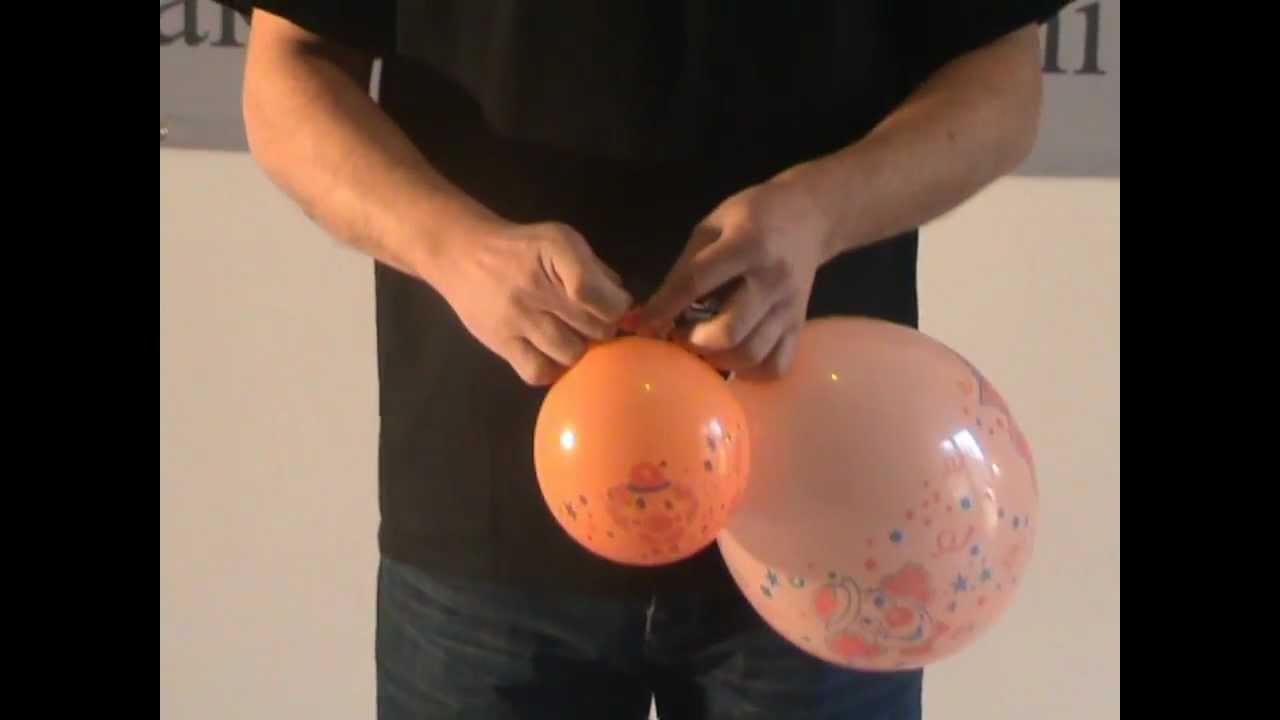Physics Balloon Experiment Two Balloons Physics