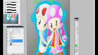Speed Painting ► Toad and Toadette