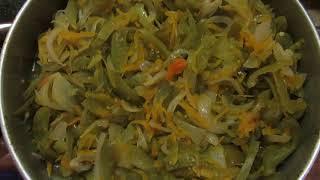 """Закусочный салат из зеленых помидоров  """" Радость застолья"""""""
