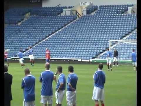 Stuart McCheyne - Ibrox Stadium - Audi 2011 Play on the park - Glasgow Rangers