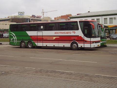 Omsi 2 Карта Щелково маршрут 33 Мишнево Фрязино Автобус Setra317 МОСТРАНСАВТО