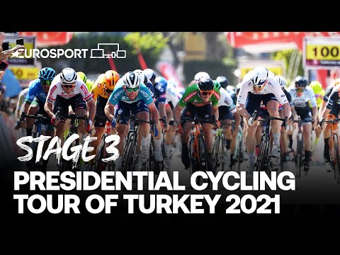 Presidential Cycling Tour of Turkey 2021 - Stage 3 Highlights | Cycling | Eurosport