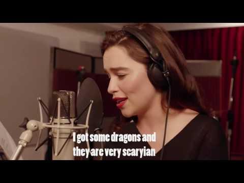 Lyrics: Emilia Clarke -
