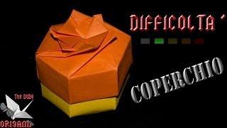[ORIGAMI ITA] Scatola Esagonale Facile (Coperchio) || Origami Decorativi/Utili