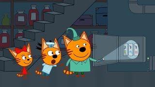 Три кота | Серия 116 | Закон экономии | Мультфильмы для детей