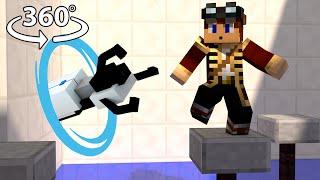 Portal 2 - Minecraft 360° Video