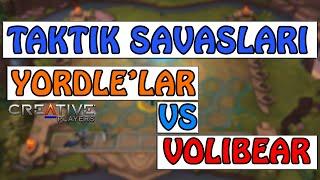 (TAKTİK SAVAŞLARI) YORDLE ' LAR VS. VOLİBEAR (LEAGUE OF LEGENDS)