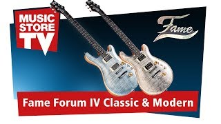 FAME Forum IV Classic & Modern E-Gitarre