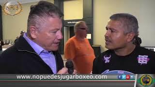 Robert García: Canelo demuestra que el mexicano no es sucio - Dana White si visitó a Mikey García.