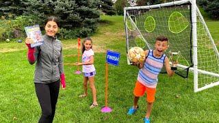 Heidi Zidane and Hadil Home Games Challenge