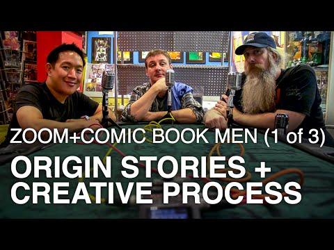 Zoom Creators: AMC's Comic Book Men (pt 1 of 3) Origin Stories, Creative Process streaming vf