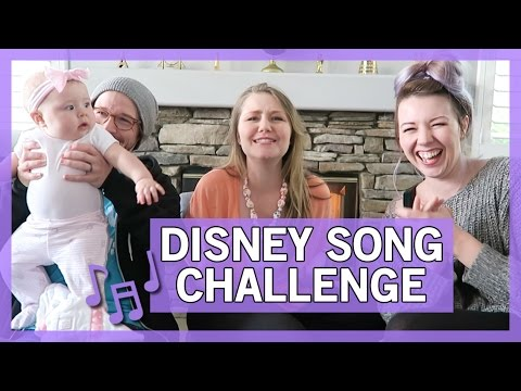 Disney Song Challenge with Andrew and Hali Ducote