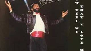 Teddy Pendergrass - Now Tell Me That U Love Me  1982 Lyrics