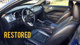 Restoring The Interior On My 2006 Mustang GT