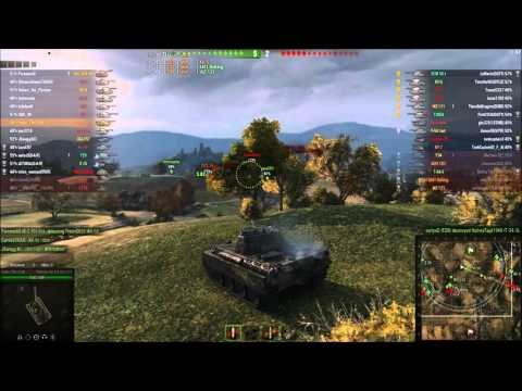 WOT Blitz / Panther-8,8 / 4 frags / 4.4k dmg from YouTube · Duration:  7 minutes 23 seconds