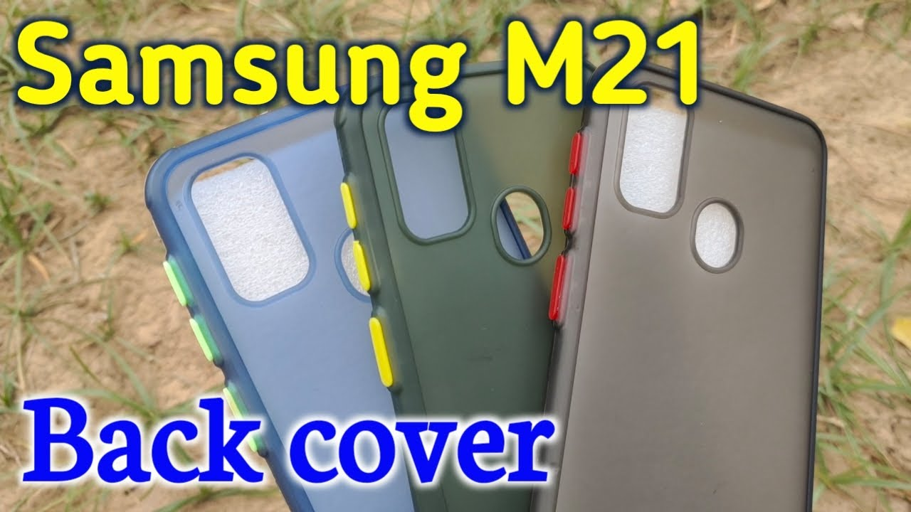 Samsung galaxy M21 back cover | Made in India | Back case for Samsung M21