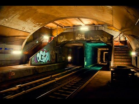 Ghost Stations - Disused Oslo Metro Stations
