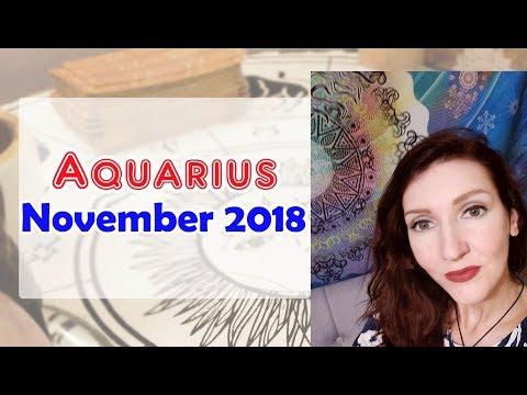 Aquarius  X Release Your EX November 2018 Love/soulmate Readings Jennifer Walker Zen
