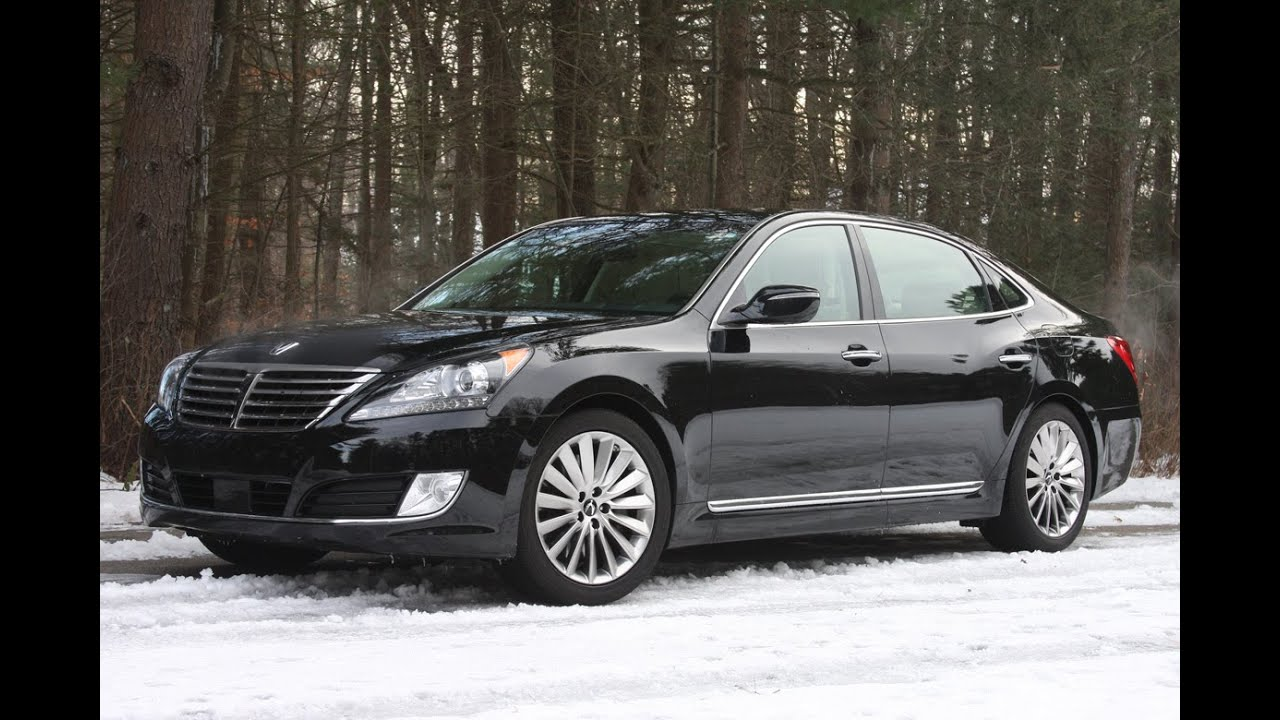 All New Cars Review 2016 Hyundai Equus First Drive
