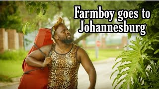 Farmboy goes to the big city - LEON GUMEDE