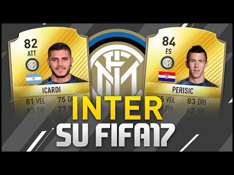 ICARDI RIMANE ALL' INTER! FIFA 17 POTENTIAL PLAYERS UPGRADE [INTER] #4