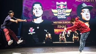 Xak VS Bruce Almighty - SEMIFINALS - Red Bull BC One Western Europe Final 2015