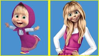 Любимые герои мультфильмов повзрослели!
