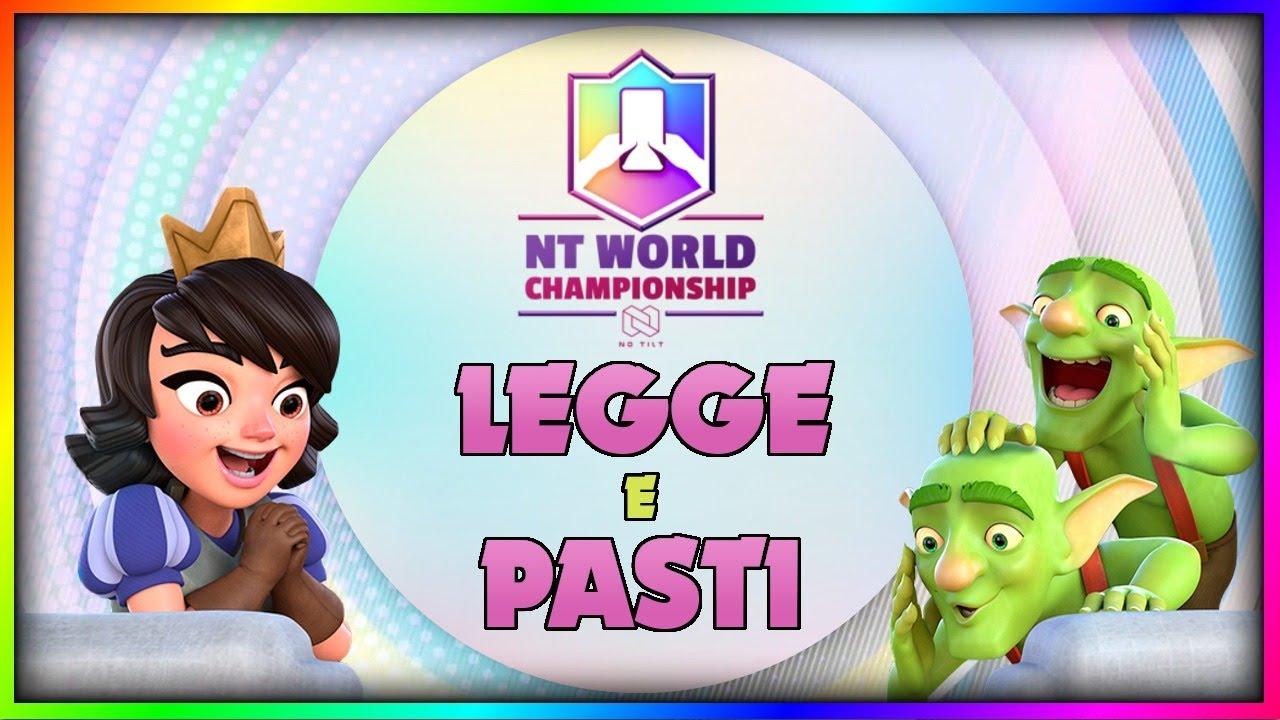 20 WIN CHALLENGE con PASTI e LEGGE! | Clash Royale ITA
