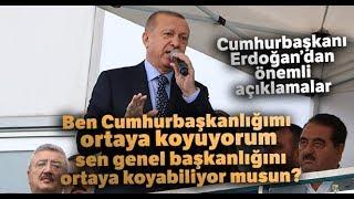 """Cumhurbaşkanı Erdoğan'dan CHP'ye Sert Sözler; """"Bunlar Edepsiz, Ahlaksız"""""""