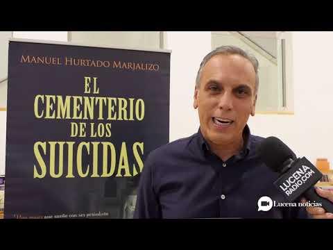 VÍDEO: Manuel Hurtado Marjalizo presenta en Lucena su novela El Cementerio de los Suicidas