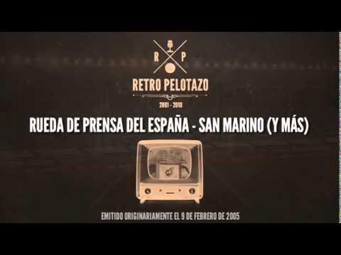 Rueda de prensa del España - San Marino (y más)