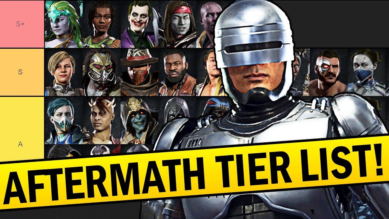 Mortal Kombat 11 The Definitive Aftermath Tier List Youtube