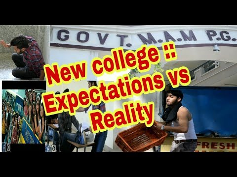 New college :- Expectation vs Reality || jammu viners ||